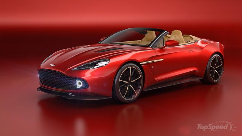 2017 Aston Martin Vanquish Zagato Volante High Resolution Exterior Wallpaper quality - image 685636
