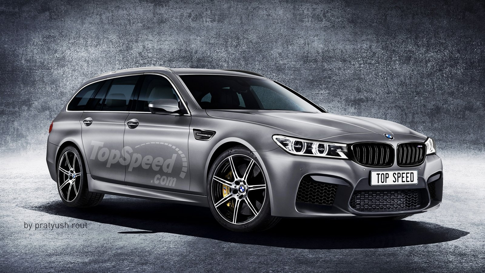 2019 BMW M5 Touring | Top Speed