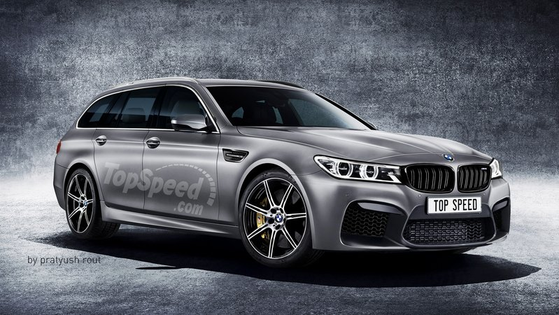 2019 BMW M5 Touring Exterior Exclusive Renderings Computer Renderings and Photoshop - image 685433