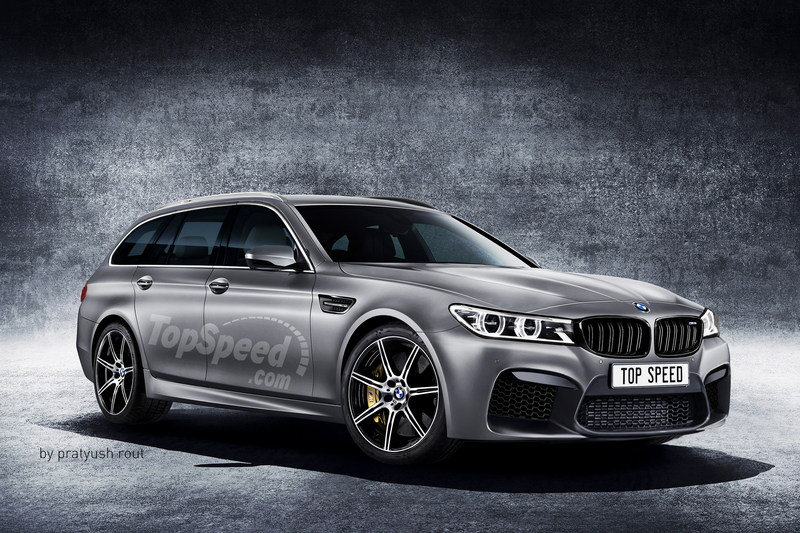 2019 BMW M5 Touring Exterior Exclusive Renderings Computer Renderings and Photoshop - image 685431