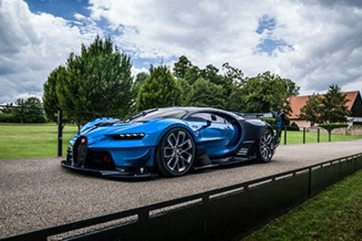 Bugatti Chiron And Vision GT Concept To Be Showcased Side-By-Side At Pebble Beach Concours