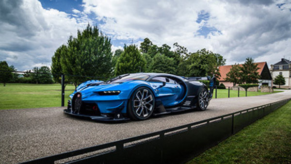 Pebble Beach Car Show >> Bugatti Chiron And Vision GT Concept To Be Showcased Side-By-Side At Pebble Beach Concours News ...