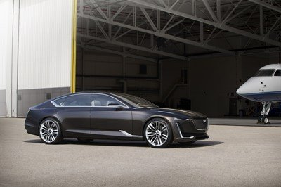 Report: Cadillac Could Take on the BMW 8 Series, Audi A8, and Porsche Panamera with a Production Version of Escala Concept - image 685457