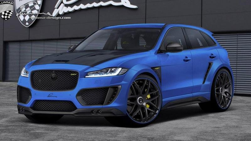2016 Jaguar F-Pace By Lumma Design High Resolution Exterior - image 684575