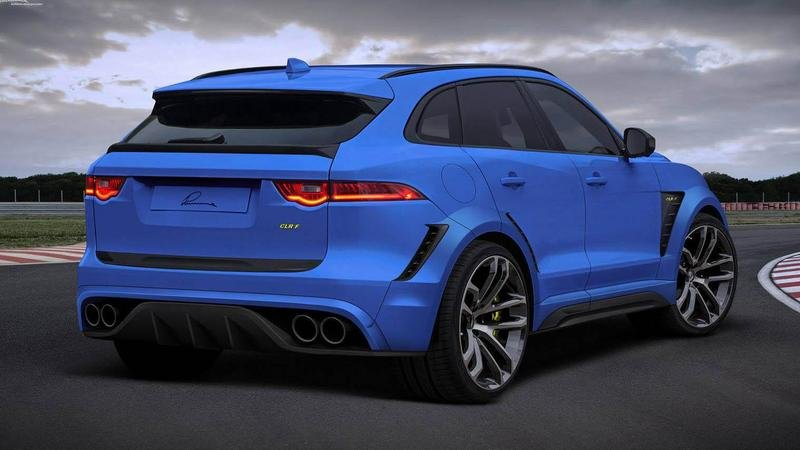 2016 Jaguar F-Pace By Lumma Design High Resolution Exterior - image 684576