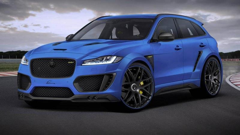 2016 Jaguar F-Pace By Lumma Design