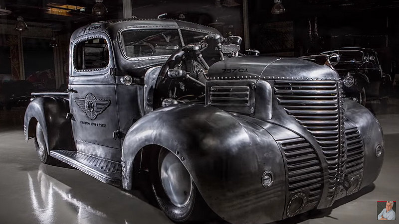 Jay Leno Goes Aeronautical with this Plymouth pickup: Video - image 686693