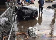 Lamborghini Huracan Breaks in Half, then Bursts into Flames in Chicago - image 684934
