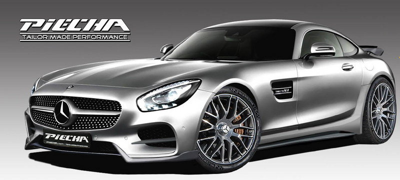 2016 Mercedes-AMG GT S RSR By Piecha Design Exterior - image 685164