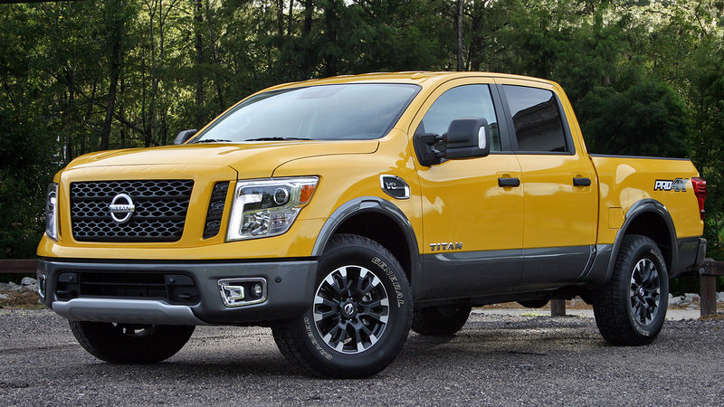 nissan titan reviews specs prices photos and videos top speed. Black Bedroom Furniture Sets. Home Design Ideas