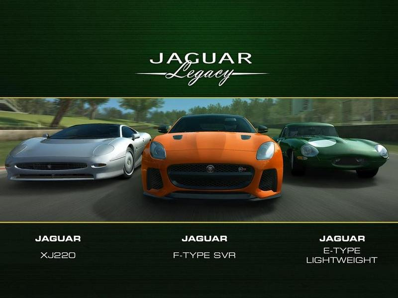 Real Racing 3 Launches Evolution of Jaguar Car Pack