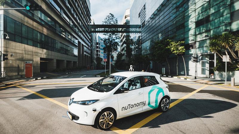 Singapore is Home to the First Self-Driving Taxi
