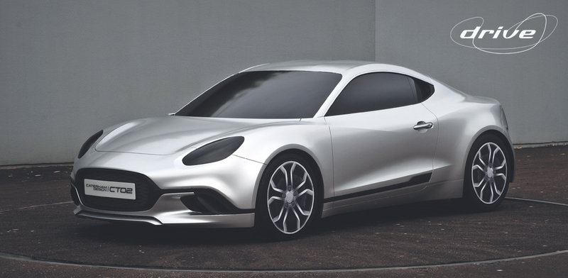 This is How Caterham's Alpine Coupe Twin Was Supposed To Look Like