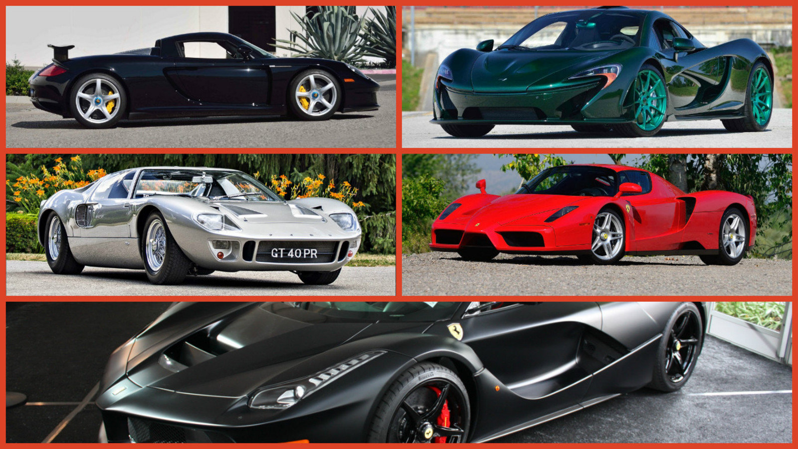 Top 10 Cars At Mecum S Monterey Auction Pull In Nearly 20