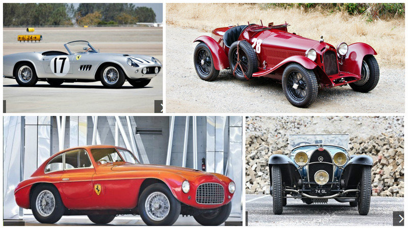 Top 5 Cars Sold at Gooding & Company Auction During Monterey Car Week 2016