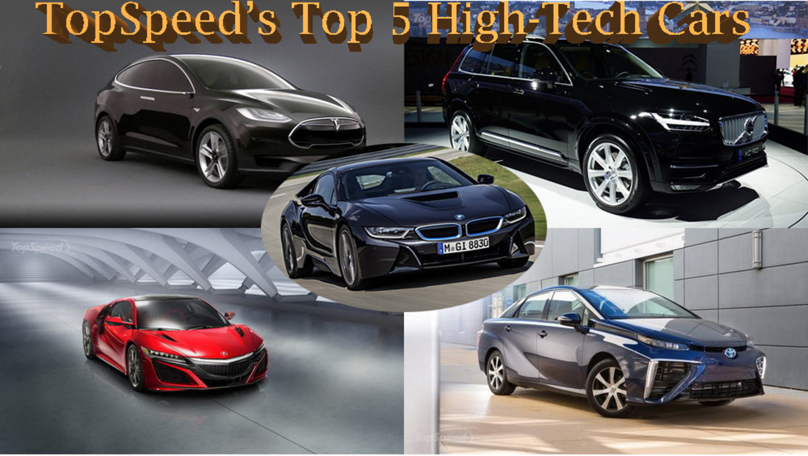 topspeed 39 s top 5 high tech cars news top speed. Black Bedroom Furniture Sets. Home Design Ideas