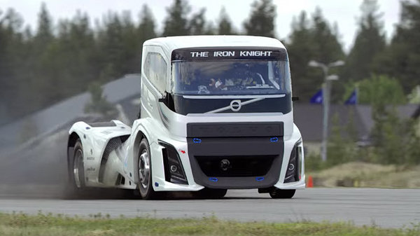 volvo trucks beats its own speed record with 2 400