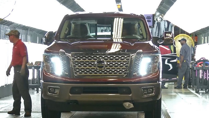 Watch the Nissan Titan XD's Assembly: Video