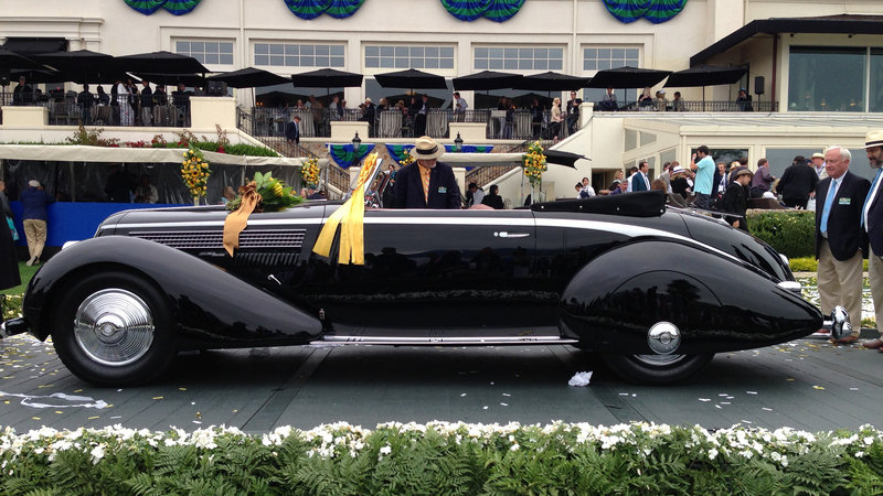 1936 Lancia Astura Pininfarina Cabriolet Takes Top Honors At 2016 Pebble Beach Concours d'Elegance