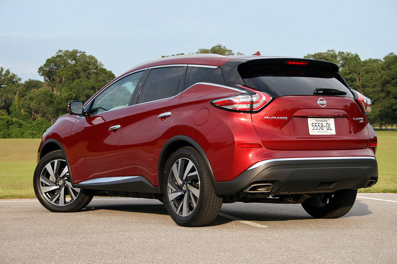 2016 Nissan Murano – Driven High Resolution Exterior - image 687618