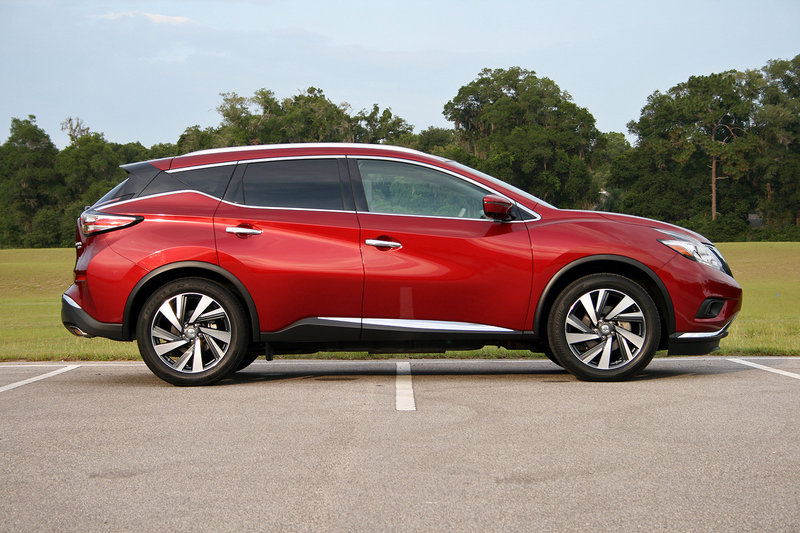 2016 Nissan Murano – Driven High Resolution Exterior - image 687621