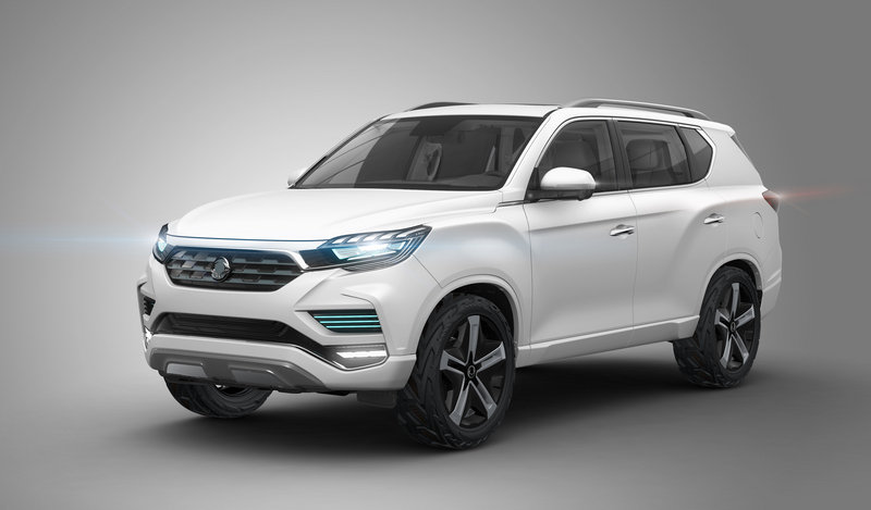2016 SsangYong LIV-2 High Resolution Exterior - image 690190