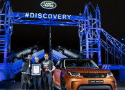 2017 Discovery Debut Includes Record-breaking Lego Bridge, Bear Grylls, Helicopters, Water Fording, & a Lego Sail Boat! - image 689814