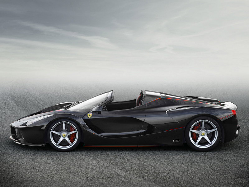 2017 Ferrari Laferrari Aperta Top Speed