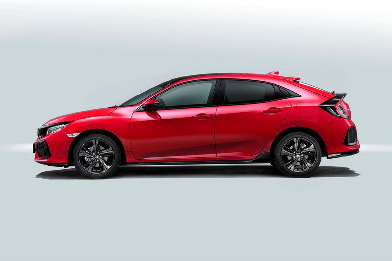2017 Honda Civic Hatchback High Resolution Exterior - image 688642