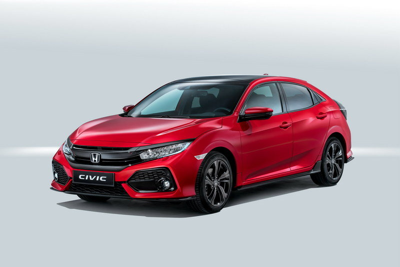 2017 Honda Civic Hatchback High Resolution Exterior - image 688643