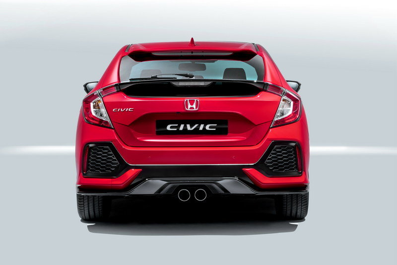 2017 Honda Civic Hatchback High Resolution Exterior - image 688646