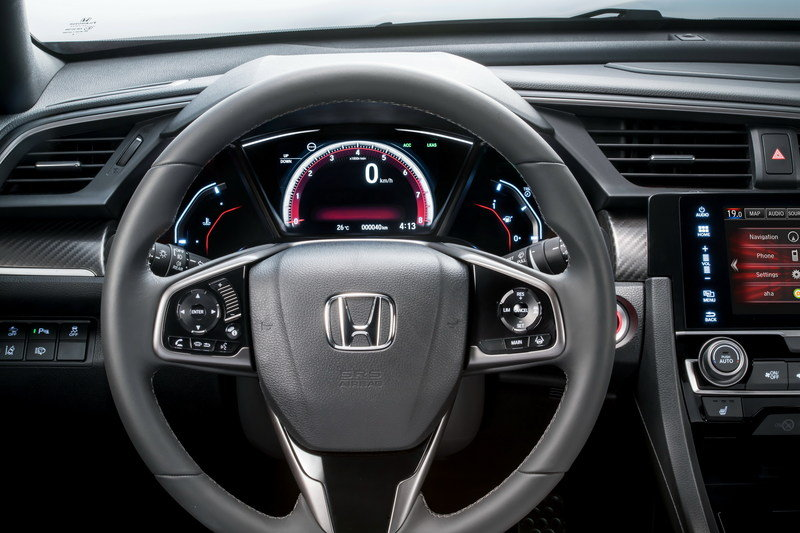 2017 Honda Civic Hatchback High Resolution Interior - image 688648
