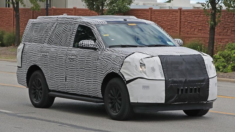 Ford Confirms 2018 Expedition's Aluminum Body