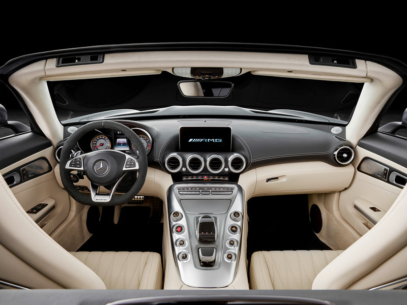 2018 Mercedes-AMG GT Roadster High Resolution Interior - image 688409