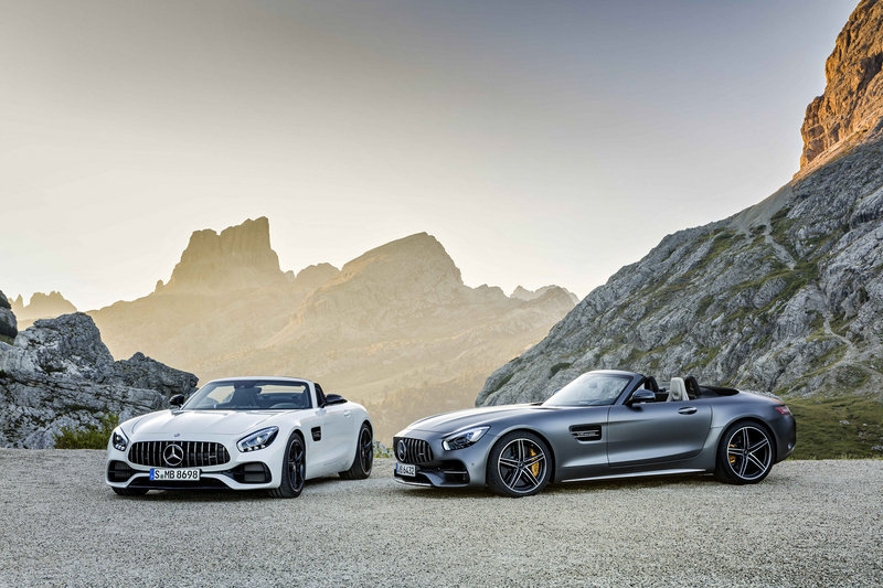 2018 Mercedes-AMG GT Roadster High Resolution Exterior - image 688414