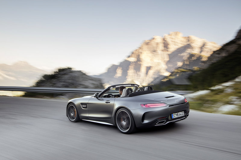 2018 Mercedes-AMG GT Roadster High Resolution Exterior - image 688420