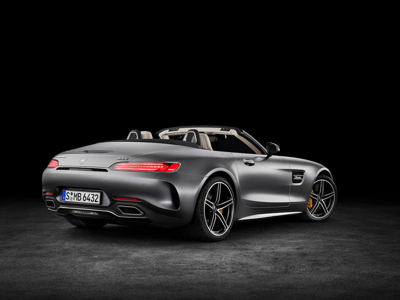 2018 Mercedes-AMG GT Roadster High Resolution Exterior - image 688399