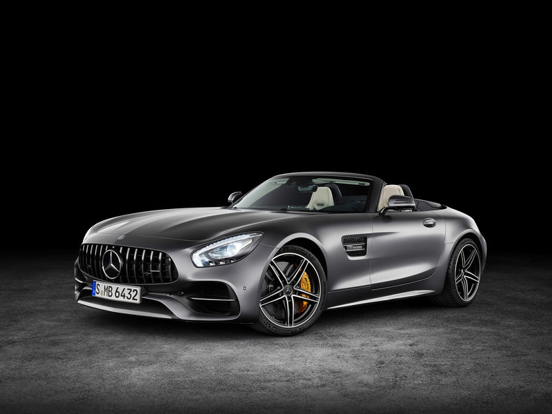 2018 Mercedes-AMG GT Roadster High Resolution Exterior - image 688401