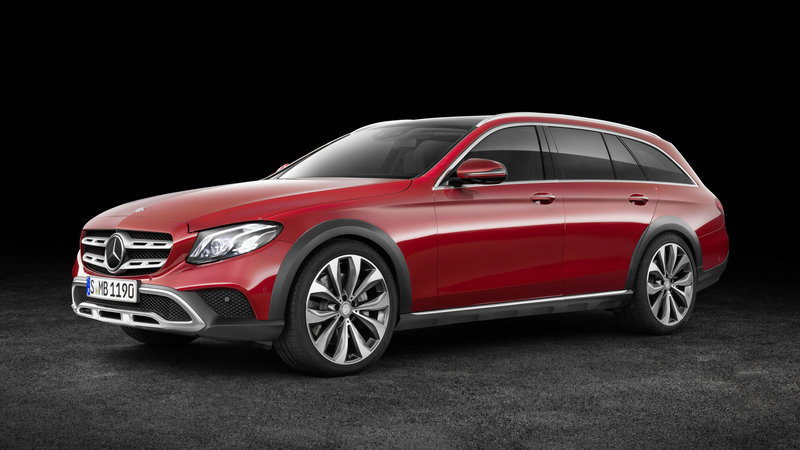 The E-Class That Can Go Anywhere.... Well, Almost.