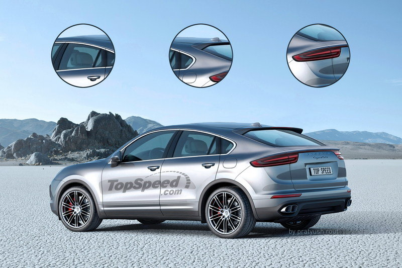 2019 Porsche Cayenne Coupe Exterior Exclusive Renderings Computer Renderings and Photoshop - image 689669