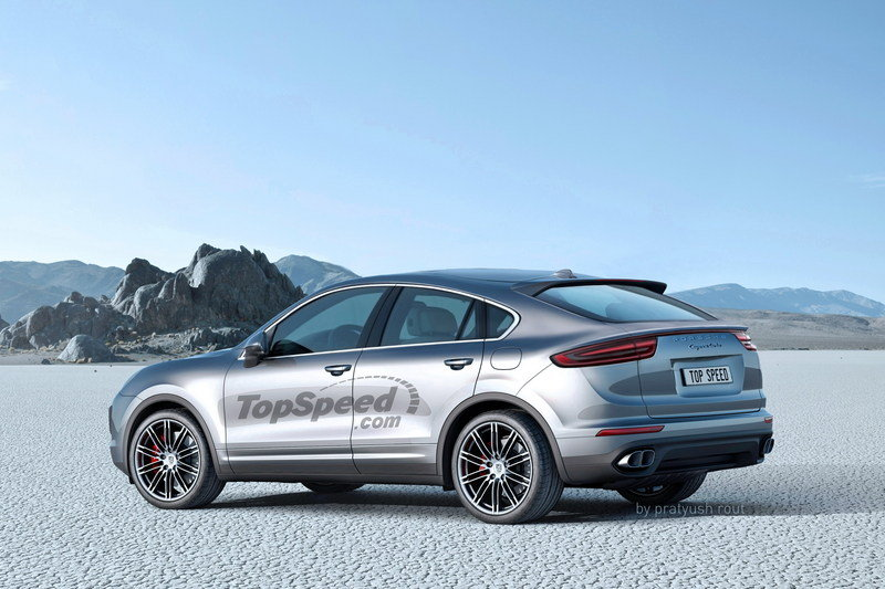 2019 Porsche Cayenne Coupe Exterior Exclusive Renderings Computer Renderings and Photoshop - image 689668