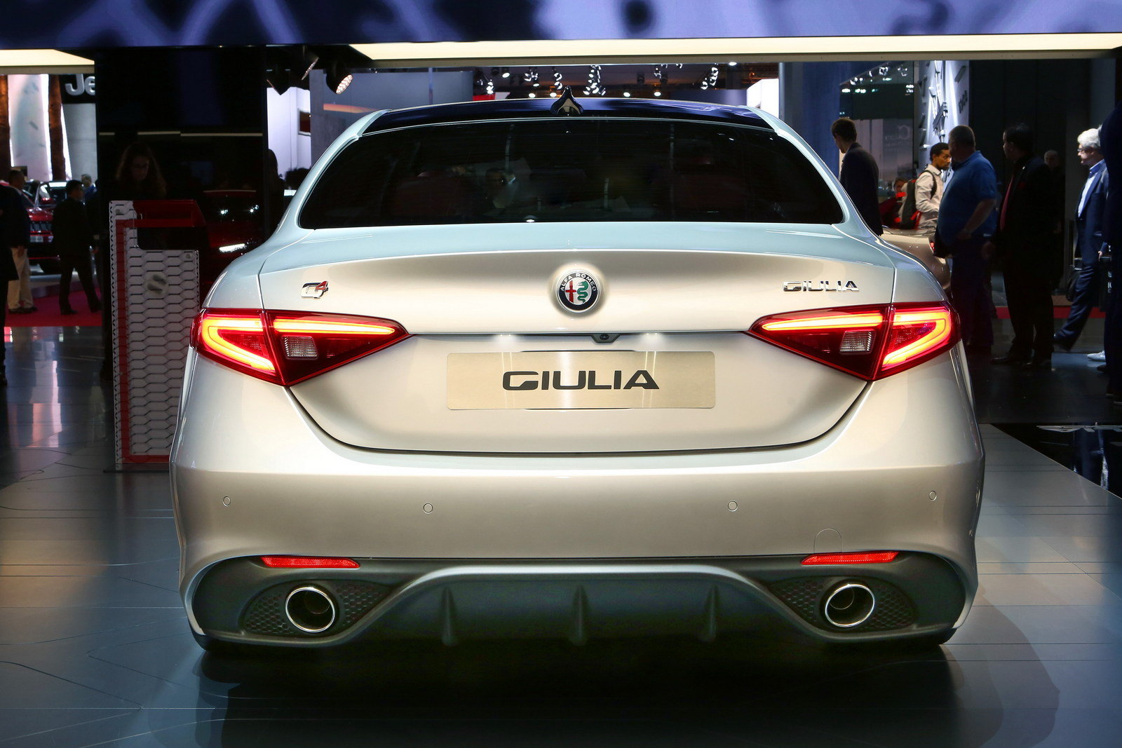 alfa romeo giulia veloce slots nicely between the base and quadrifoglio variants picture. Black Bedroom Furniture Sets. Home Design Ideas