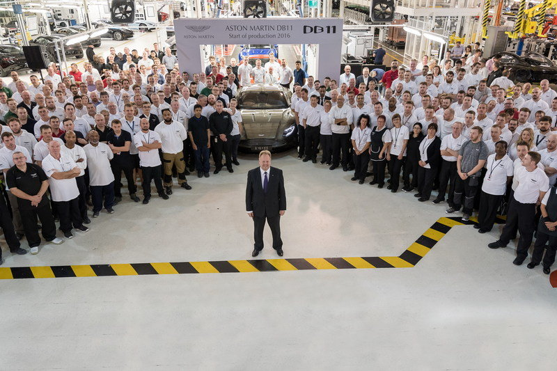 Aston Martin DB11 Officially Goes Into Production