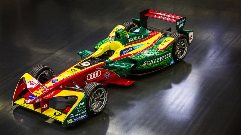 Audi Incorporating Formula E Into a Factory-Backed Program for 2017-2018 Season