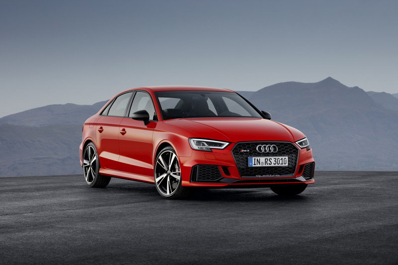 2018 Audi RS3 Sedan High Resolution Exterior - image 690336