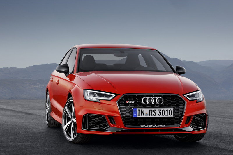 2018 Audi RS3 Sedan High Resolution Exterior - image 690338