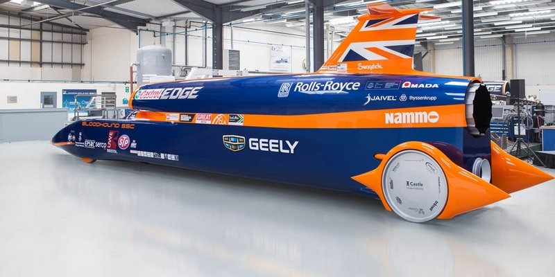 Bloodhound Project Saved By Geely