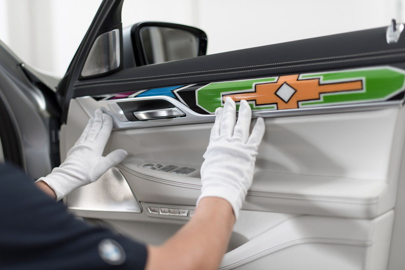 2016 BMW Individual 7 Series by Esther Mahlangu High Resolution Interior - image 687320