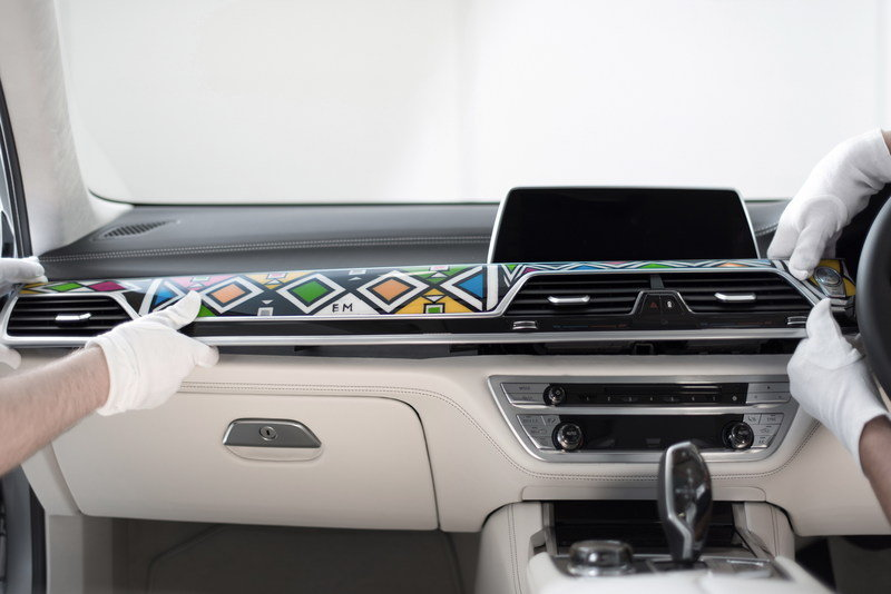 2016 BMW Individual 7 Series by Esther Mahlangu High Resolution Interior - image 687321