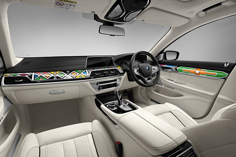2016 BMW Individual 7 Series by Esther Mahlangu High Resolution Interior - image 687326